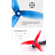 DAL Cyclone T5045C Pro Propeller - Crystal Blue 10 Pairs