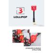 Lollipop3 LHCP SMA high gain omni red antenna - Foxeer 06