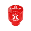 Foxeer Lollipop3 STUBBY RHCP SMA red antenna