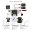 HGLRC FD413 STACK 16x16 3-6S F411 Flight Controller 13A BLS 4in1 ESC