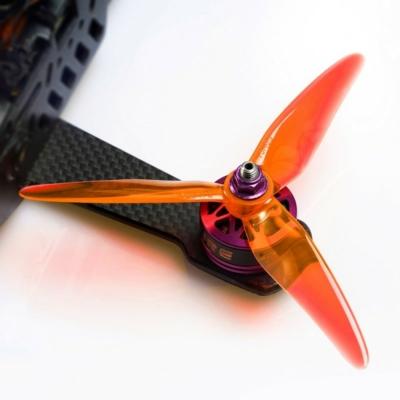 DAL SpitFire T5148.5 - 2 Pairs Crystal Orange