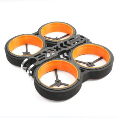 DIATONE MXC TAYCAN DUCT 3 INCH CINEWHOOP FPV DRONE FRAME EDITION KIT - narancs