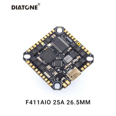Diatone MAMBA F411 25A AIO 8bit  (INTERNAL USB)