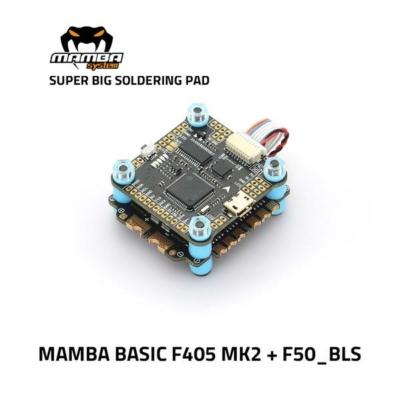 Diatone MAMBA Stack Basic F405 MK2 50A 6S 8bit