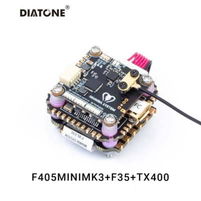 Diatone MAMBA STACK F405 MINI MK3 /35A 3-6S 8BIT /400MW VTX