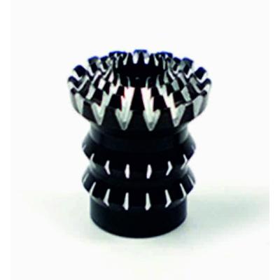Hüvelyk gombvég lotus M4 fekete