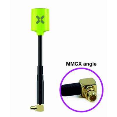 Foxeer Micro Lollipop LHCP MMCX Angle fluorescent green antenna