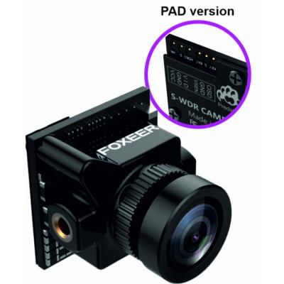 Foxeer PREDATOR4 micro M8 1.7mm lens black PAD camera