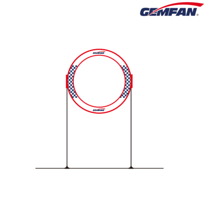 Gemfan 78cm Circle Race Gates +Base Tools
