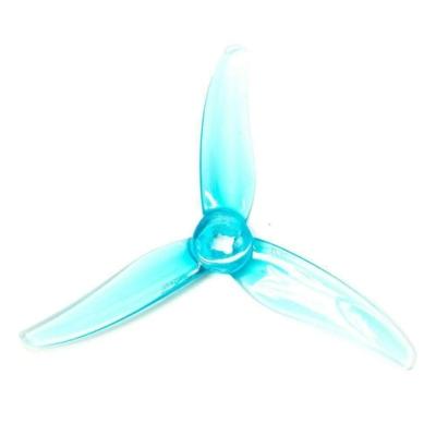 Gemfan prop 3520 Hurricane Durable 3 Blade 2 pairs - Clear blue