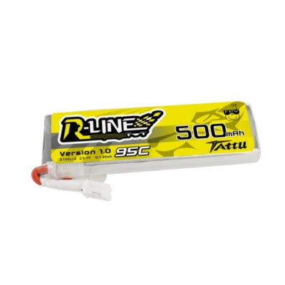 Tattu R-Line 500mAh 3.7V 1S1P 95C Lipo Battery