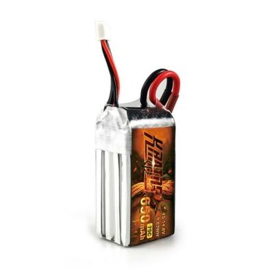 HGLRC KRATOS 4S1P 14.8V 650mAh 75C Lipo Battery with XT30 Plug