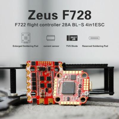 Hglrc Zeus F728 FC+ESC Stack