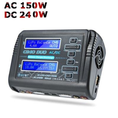 HTRC T240 dual battery charger