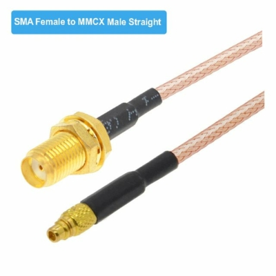 Pigtail SMA female to MMCX straight 100mm