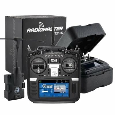RadioMaster TX16s transmitter + HALL Gimbal + TBS MicroTX v2