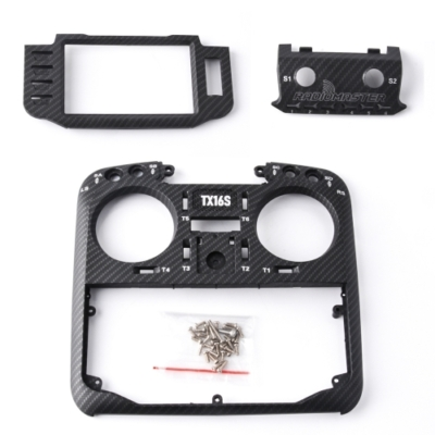 RadioMaster TX16S Replacement Carbon Fiber front case