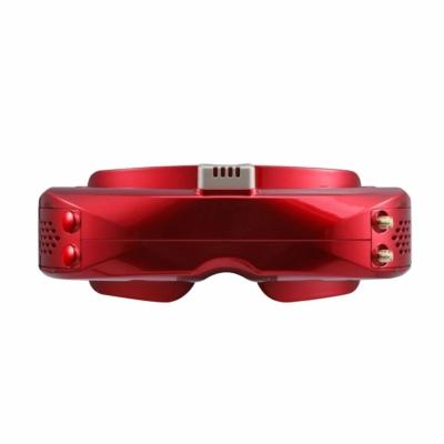 SkyZone Sky O4X FPV goggles - red